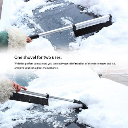 Schnee Pinsel