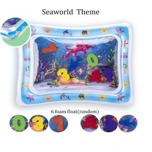 Wassermatte Aufblasbar Tummy Time Pad