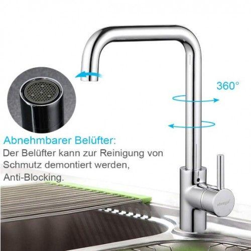 Wasserhahn Küche Chrom
