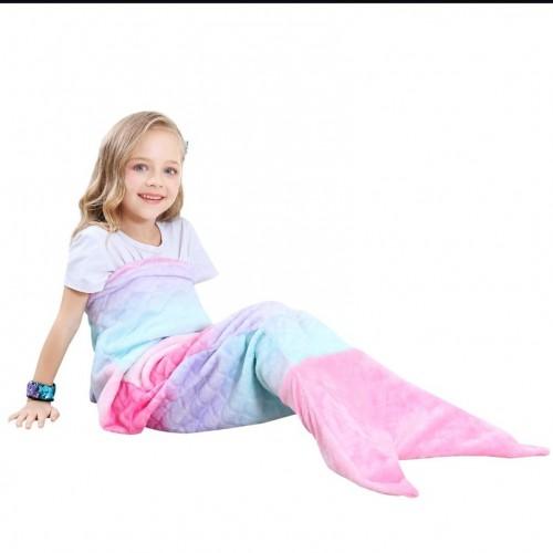 Meerjungfrau Decke Kinder