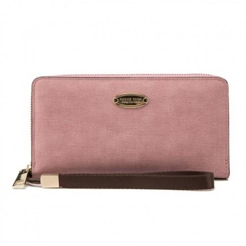 Portemonnaie Damen Groß Viele Fächer Rosa