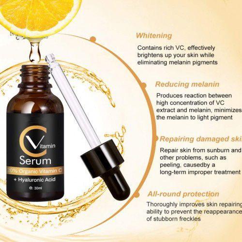 Vitamin C Serum mit Hyaluronsäure