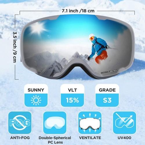 Skibrille Modell 7