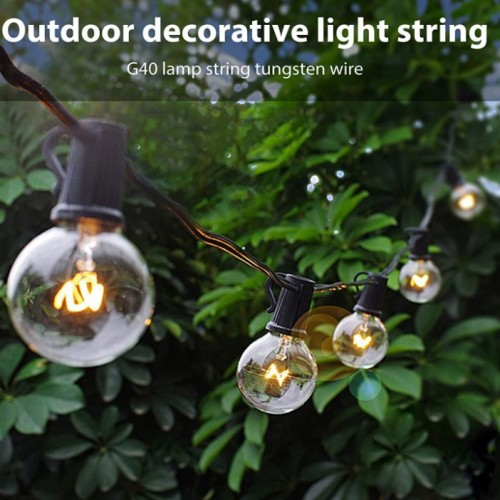 LED Glühbirnen Lichterkette Modell 30