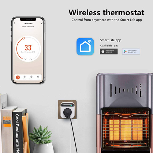 Thermostat Steckdose