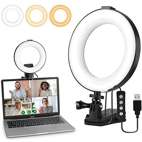LED Ringlicht, Selfie Licht Modell 21